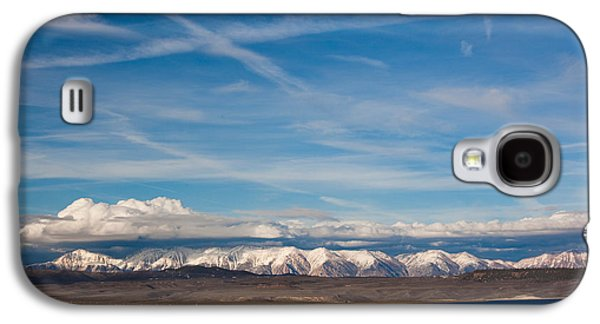 Californian Galaxy S4 Cases - Landscape By A Lake Crowley With White Galaxy S4 Case by Panoramic Images