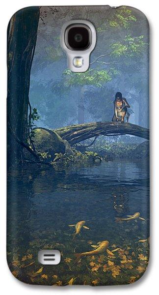 Hunters Galaxy S4 Cases - Lantern Bearer Galaxy S4 Case by Cynthia Decker