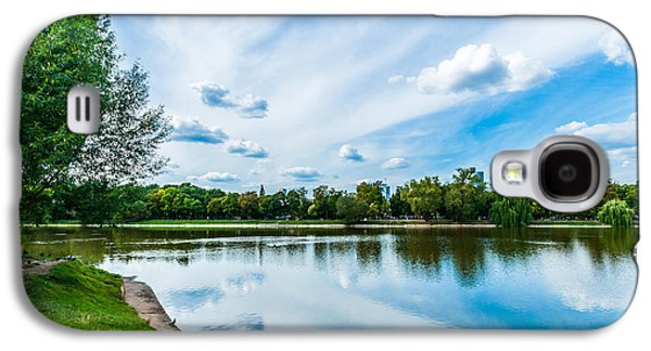 Nature Center Pond Galaxy S4 Cases - Large Novodevichy pond of Moscow - 2 Galaxy S4 Case by Alexander Senin