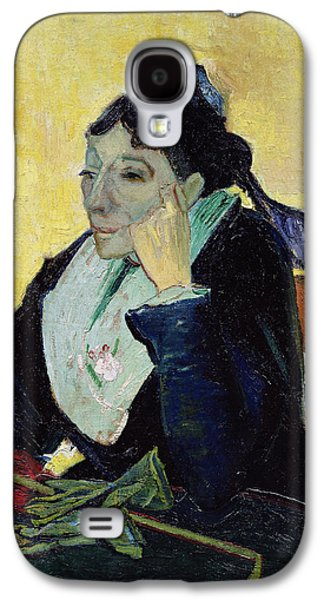 Arles Galaxy S4 Cases - Larlesienne, 1888 Oil On Canvas Galaxy S4 Case by Vincent van Gogh
