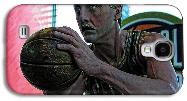 Larry Bird Galaxy S4 Cases - Larry Bird at Hall of Fame Galaxy S4 Case by Mike Martin
