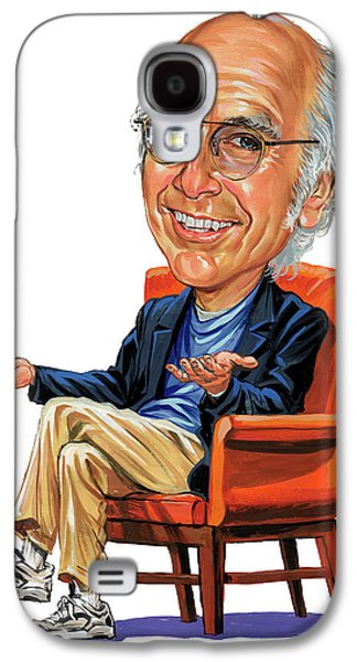 Best Sellers -  - Person Galaxy S4 Cases - Larry David Galaxy S4 Case by Art