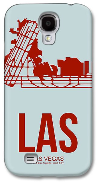 Las Vegas Galaxy S4 Cases - LAS Las Vegas Airport Poster 3 Galaxy S4 Case by Naxart Studio