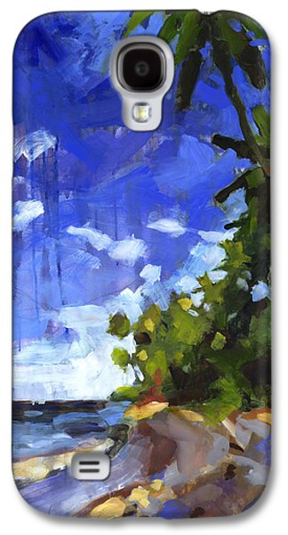 Beach Landscape Galaxy S4 Cases - Las Terrenas Afternoon Galaxy S4 Case by Douglas Simonson