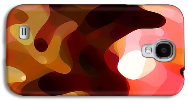 Abstract Movement Galaxy S4 Cases - Las Tunas  Galaxy S4 Case by Amy Vangsgard