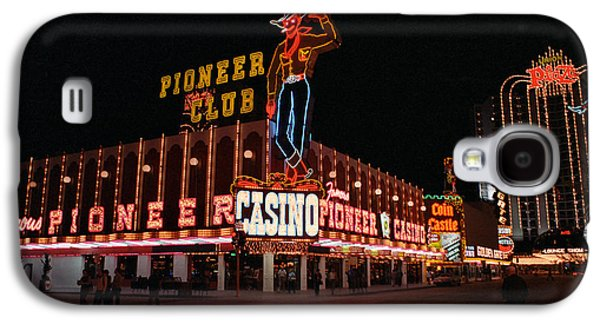 Pioneer Scene Galaxy S4 Cases - Las Vegas 1983 Galaxy S4 Case by Frank Romeo