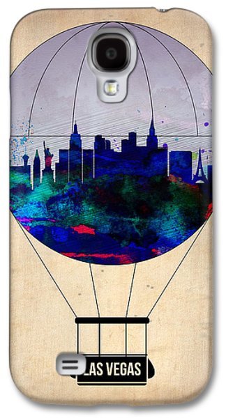 Las Vegas Galaxy S4 Cases - LAs Vegas Air Balloon Galaxy S4 Case by Naxart Studio