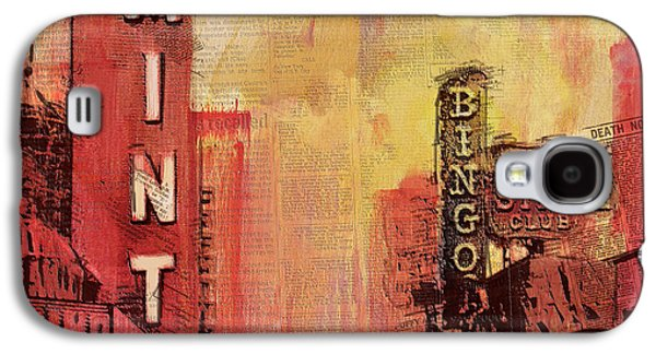 Digital Paintings Galaxy S4 Cases - Las Vegas Collage 3 Galaxy S4 Case by Corporate Art Task Force