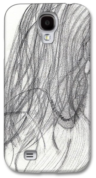 Kim Drawings Galaxy S4 Cases - Last Daughter Wed Galaxy S4 Case by Kim Peto