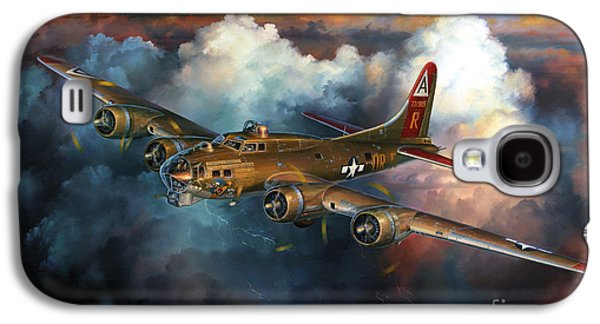 Dogfight Galaxy S4 Cases - Last Flight For Nine-O-Nine Galaxy S4 Case by Randy Green