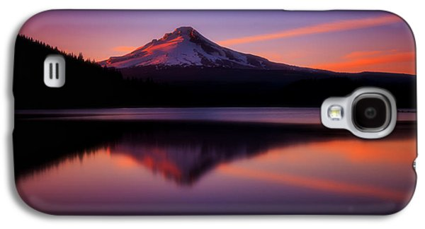 Landscape Acrylic Prints Galaxy S4 Cases - Last Light Galaxy S4 Case by Darren  White