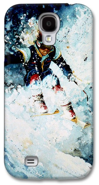 Canadian Sports Paintings Galaxy S4 Cases - Last Run Galaxy S4 Case by Hanne Lore Koehler