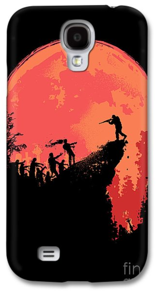Moon Digital Galaxy S4 Cases - Last Stand Galaxy S4 Case by Budi Kwan