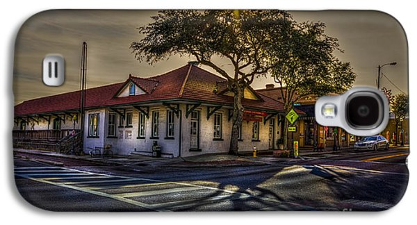 Historical Buildings Galaxy S4 Cases - Last Stop Tarpon Springs Galaxy S4 Case by Marvin Spates