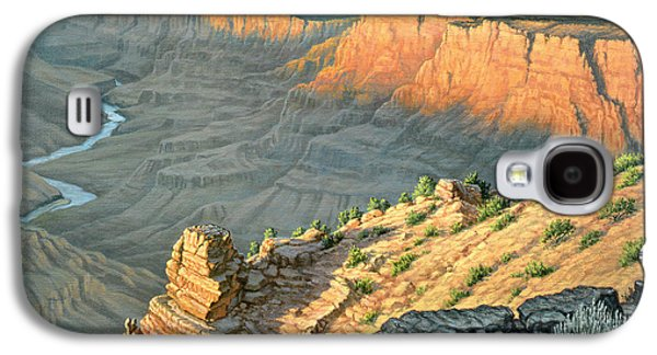Late Afternoon-desert View Galaxy S4 Case by Paul Krapf