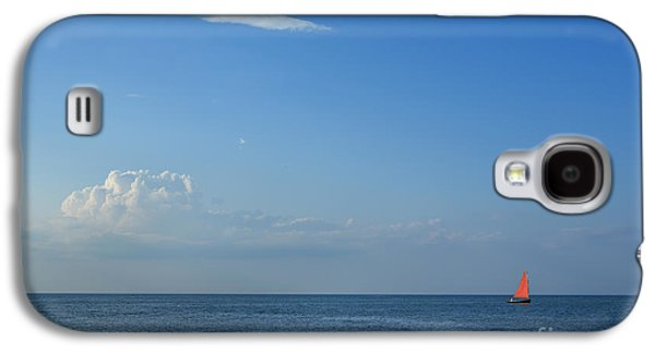 Ocean Sailing Galaxy S4 Cases - Late Afternoon Sail Galaxy S4 Case by Diane Diederich