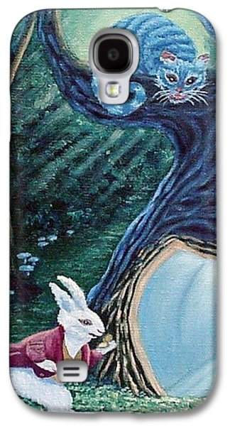 Late Again  Galaxy S4 Case by Fran Brooks