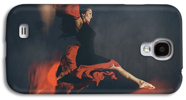 Studio Photographs Galaxy S4 Cases - Latin Dancer Galaxy S4 Case by Stylianos Kleanthous