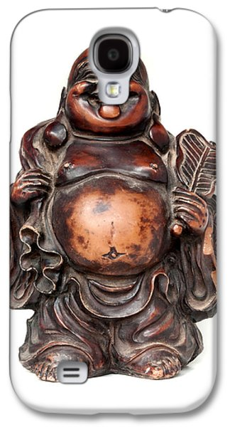 Folkloric Galaxy S4 Cases - Laughing Buddha Galaxy S4 Case by Fabrizio Troiani