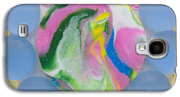 Green Reliefs Galaxy S4 Cases - Laughing dolphin Galaxy S4 Case by Heidi Sieber