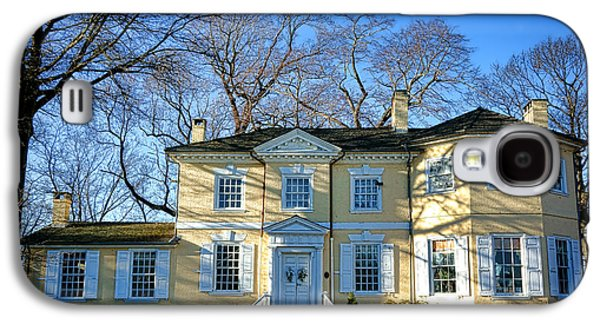 Phila Galaxy S4 Cases - Laurel Hill Mansion Galaxy S4 Case by Olivier Le Queinec