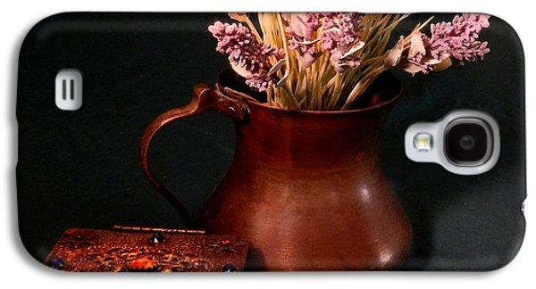 Lavender And Copper Galaxy S4 Case by Grace Dillon