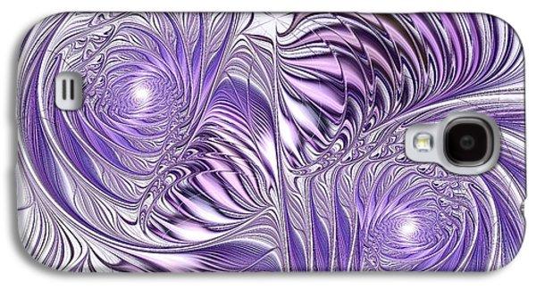 Wind Galaxy S4 Cases - Lavender Elegance Galaxy S4 Case by Anastasiya Malakhova