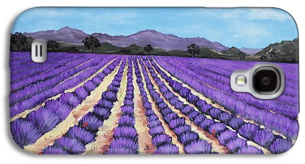 Interior Scene Galaxy S4 Cases - Lavender Field in Provence Galaxy S4 Case by Anastasiya Malakhova