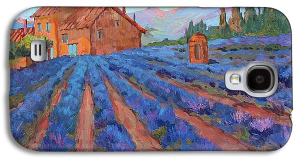 Lavender Field Provence Galaxy S4 Case by Diane McClary