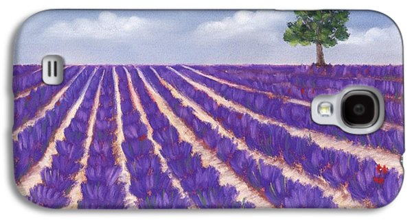 Peaceful Galaxy S4 Cases - Lavender Season Galaxy S4 Case by Anastasiya Malakhova