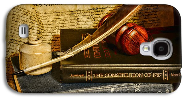 Constitution Galaxy S4 Cases - Lawyer - The Constitutional Lawyer Galaxy S4 Case by Paul Ward