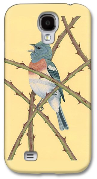 Lazuli Bunting Galaxy S4 Case by Nathan Marcy