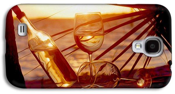 Vineyard In Napa Galaxy S4 Cases - Lazy Day  Galaxy S4 Case by Jon Neidert
