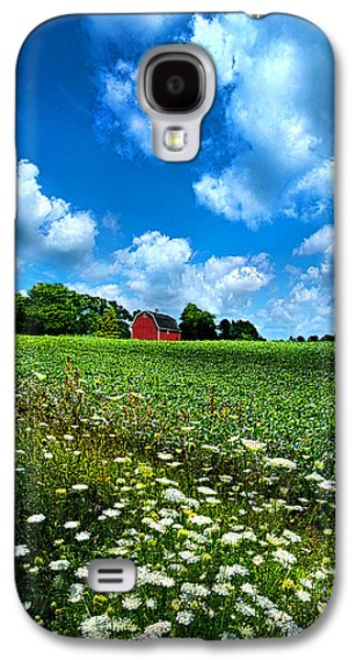 Red Barns Galaxy S4 Cases - Lazy Days of Summer Galaxy S4 Case by Phil Koch