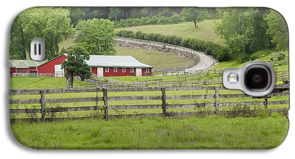 Old Country Roads Photographs Galaxy S4 Cases - Lazy Hazy Summer Galaxy S4 Case by Bill  Wakeley
