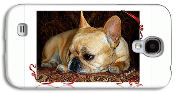 Puppy Digital Galaxy S4 Cases - Lazy Paisley Afternoon Galaxy S4 Case by Barbara Chichester