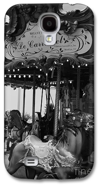Bryant Park Galaxy S4 Cases - Le Carrousel Galaxy S4 Case by David Rucker