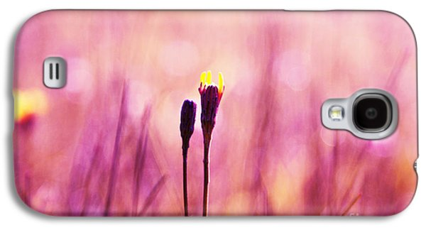 Impressionism Photographs Galaxy S4 Cases - Le Centre de l Attention - PINK s0301 Galaxy S4 Case by Variance Collections