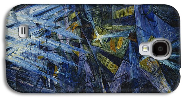 Law Enforcement Galaxy S4 Cases - Le Forze di una Strada Galaxy S4 Case by Umberto Boccioni