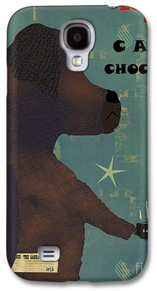 Labrador Digital Galaxy S4 Cases - Le Lab Chocolat Galaxy S4 Case by Bri Buckley