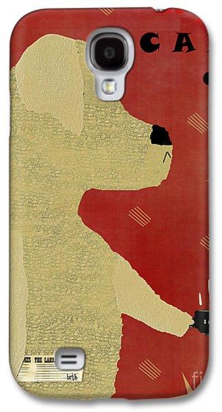 Labrador Digital Galaxy S4 Cases - Le Lab Yellow  Galaxy S4 Case by Bri Buckley