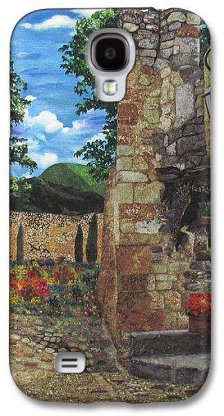 Architecture Tapestries - Textiles Galaxy S4 Cases - Le Poet Laval II Galaxy S4 Case by Lenore Crawford