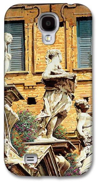 Statues Galaxy S4 Cases - Le Statue Galaxy S4 Case by Guido Borelli
