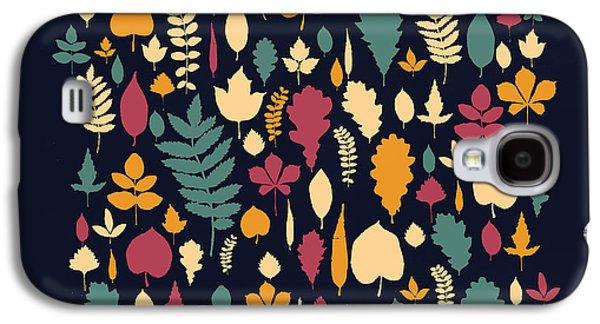 Autumn Leaf Galaxy S4 Cases - Leaf Collection Galaxy S4 Case by Budi Satria Kwan