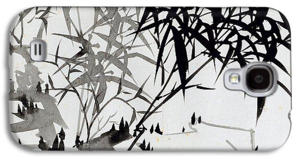 Leaf Drawings Galaxy S4 Cases - Leaf F Galaxy S4 Case by Rang Tian