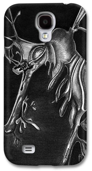 Leafy Sea Dragon Galaxy S4 Cases - Leafy Sea Dragon Galaxy S4 Case by Leara Nicole Morris-Clark