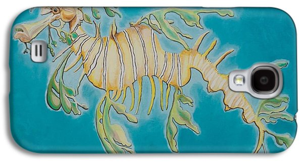 Leafy Sea Dragon Galaxy S4 Cases - Leafy Sea Dragon Galaxy S4 Case by Yabette Swank