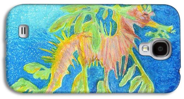 Leafy Sea Dragon Galaxy S4 Cases - Leafy SeaDragon Galaxy S4 Case by Tanya Hamell