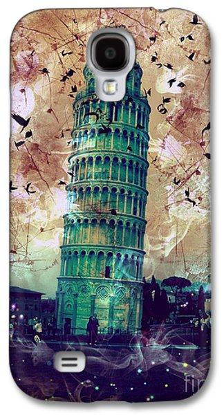 Creepy Galaxy S4 Cases - Leaning Tower of Pisa 1 Galaxy S4 Case by Marina McLain