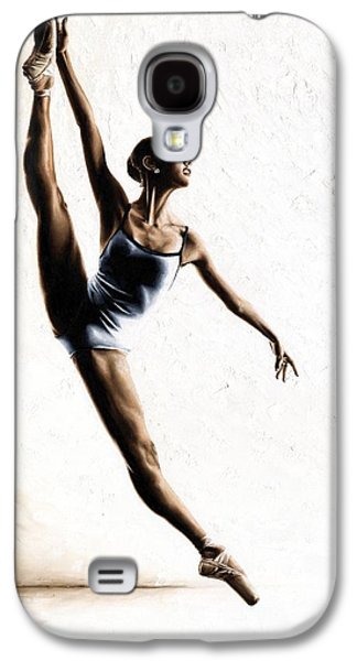 Ballerinas Galaxy S4 Cases - Leap of Faith Galaxy S4 Case by Richard Young